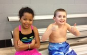 2nd grade goes swimming