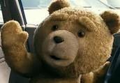 Bonjour! Je presente mon ami Ted.