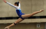 this is a jump that some of the gymnasts do!