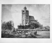St. Catharijnekerk Brielle - ca. 1800