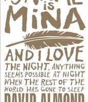 My Name is Mina by David Amond
