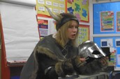 Captain Rotgut visits Year Three