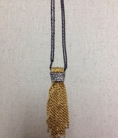 WINDSOR TASSEL NECKLACE $40