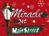 "This week's ""Miracle on Main Street"" practice schedule"