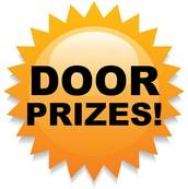 Win free door prizes