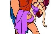 Hercules and his girlfriend