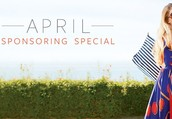 April Sponsoring Special ends tomorrow at Midnight!