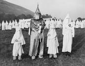 Klu Klux Klan has new targets