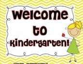 Calling new Kindergarteners!