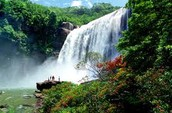 Waterfall of china. This is one of chinas waterfall's