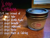Homemade Sleep Cream