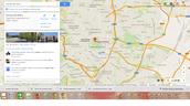 Google Maps.Ubicación Parque del Buen RETIRO