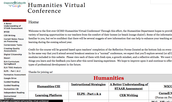 Humanities Virtual Conference