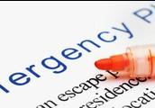 Shall we go designing an emergency plan.