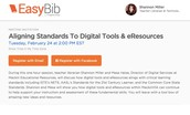 Aligning Standards to Digital Tools and eResources