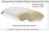 Side sleeper pillow you buy must suit ones sleeping pattern
