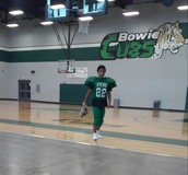 I play football  for Bowie cubs