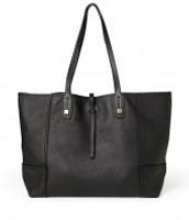 Paris Tote- Black (all leather)