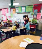 Plickers in Mrs. Shedd's class!
