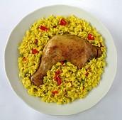 Arroz con pollo ciento dos (102)
