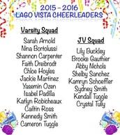 Cheerleading Teams Were Announced!