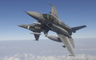 F-16 on manouvers