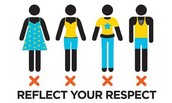 Dress codes I respect and follow
