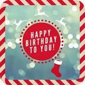 December Birthdays