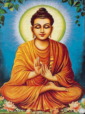 Daily lives of Buddha.