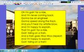 Grade 1 Song p. 2
