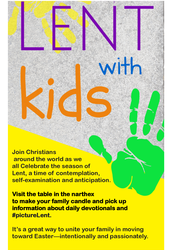 Lent for Kids- #picturelent