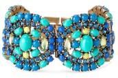 Sardinia Bracelet - Blue $45