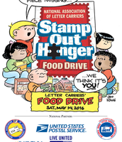 National Assoc. of Letter Carriers Food Drive - May 14th