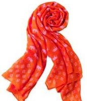 Union Square Elephant Print Summer Scarf
