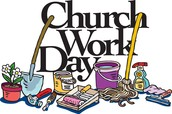 Church Work Days This Month