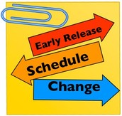 Friday, Oct. 16th Early Release Day Schedule
