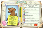 November 17- November 21, 2014 - Character Scrapbook Page