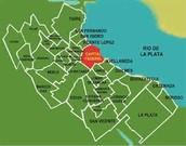 Mapa de la ciudad de Buenos Aires