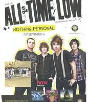 All Time Low Digipak Magazine Advert