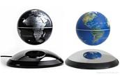 Levetating globe