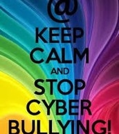 keep clam and stop cyber bulling