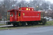 Vienna's Famous Caboose