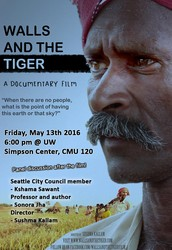 "Free screening of documentary ""Walls and the Tiger"""