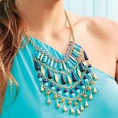 Malta Bib Statement Necklace