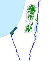 Size of Palestine
