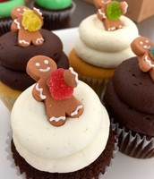 Sweet Gingerbread Man Cupcakes!