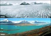 Deshielo de los polos y los glaciares
