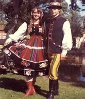 Traditional austrian costume