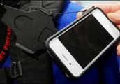 PROLINK Suport smartphone si husa cu legatura autoretractabila