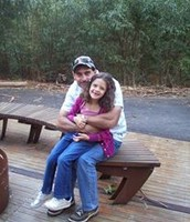This is her with her dad ↑